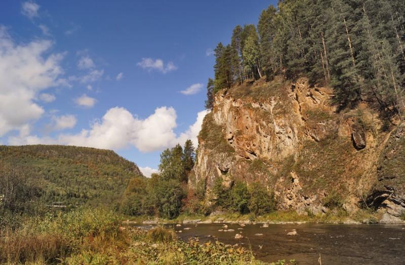 Фото: Сплав по реке Инзер. К